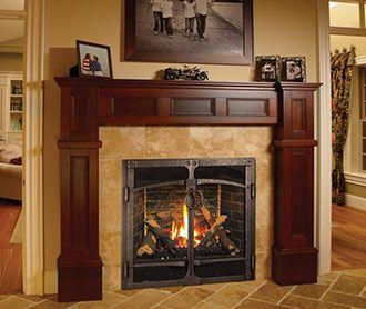 Best Of Rustic Gas Fireplace Ideas
