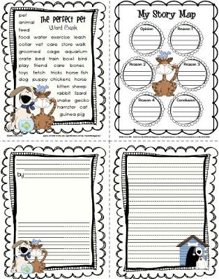 The Perfect Pet Writing Templates and Word Bank Writing, Grammar - copy personal letter format in word