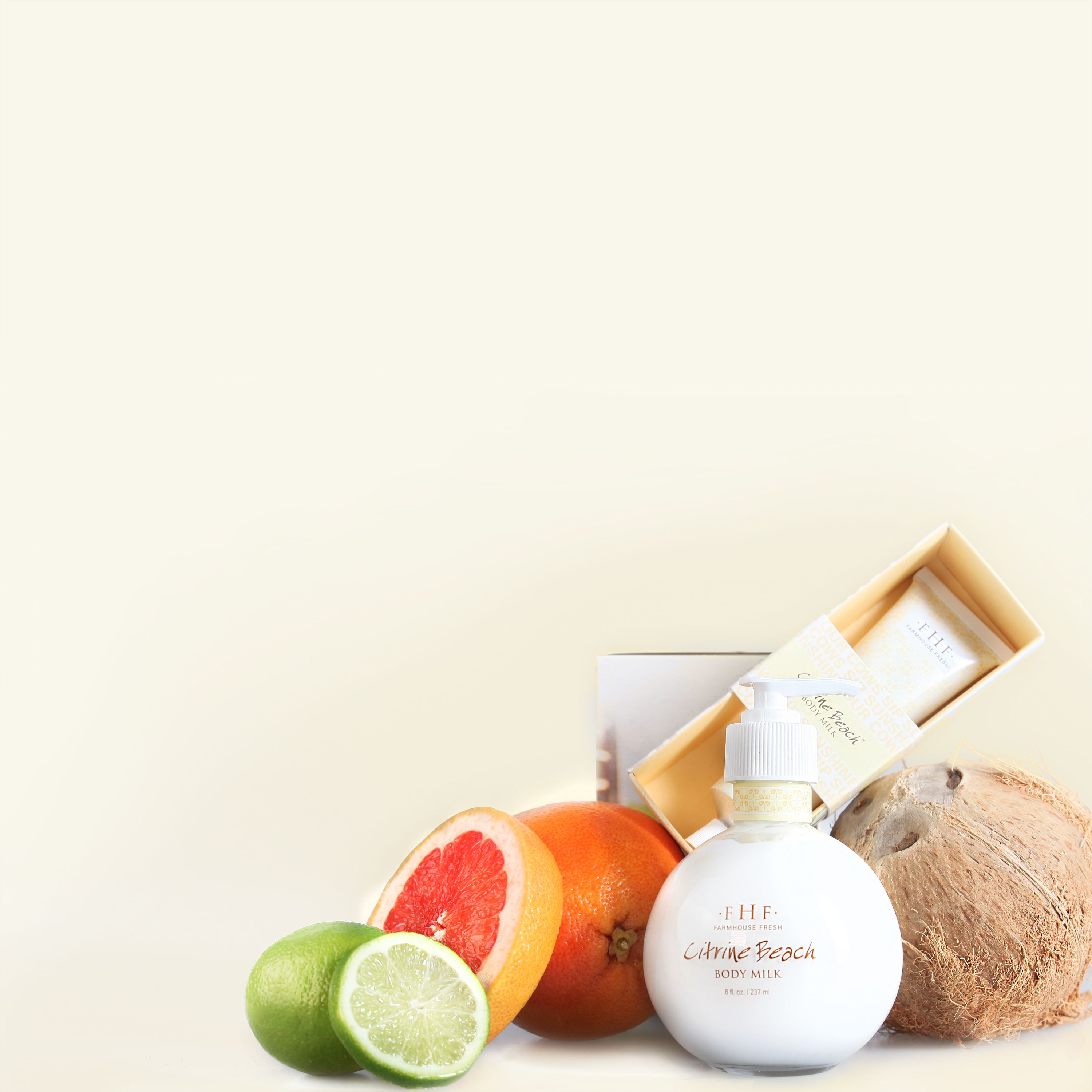 Sippin' On Summer With Citrine Beach Body Milk—chock Full