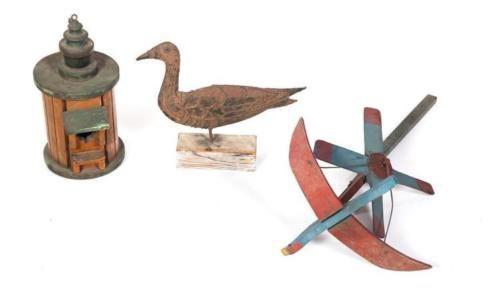 THREE-AMERICAN-BIRD-RELATED-ITEMS-Lot-456