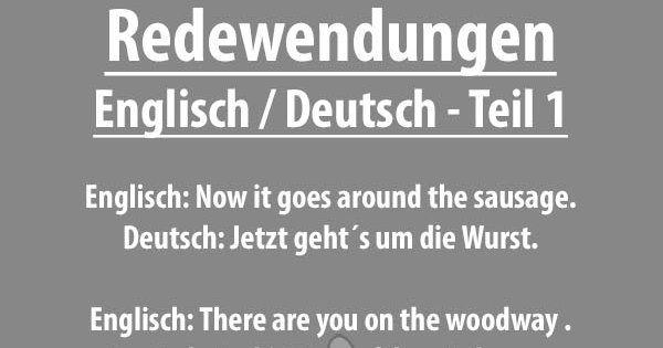 Lustige Englische Sprüche Mit Deutscher übersetzung