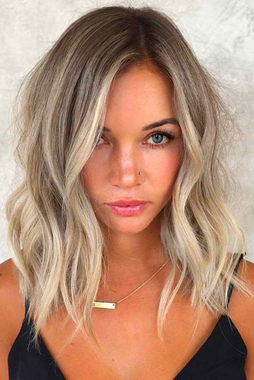 Blondes Haar #naturalashblonde Haare Cool Ash Blonde #blondehair ★ Ash blonde …