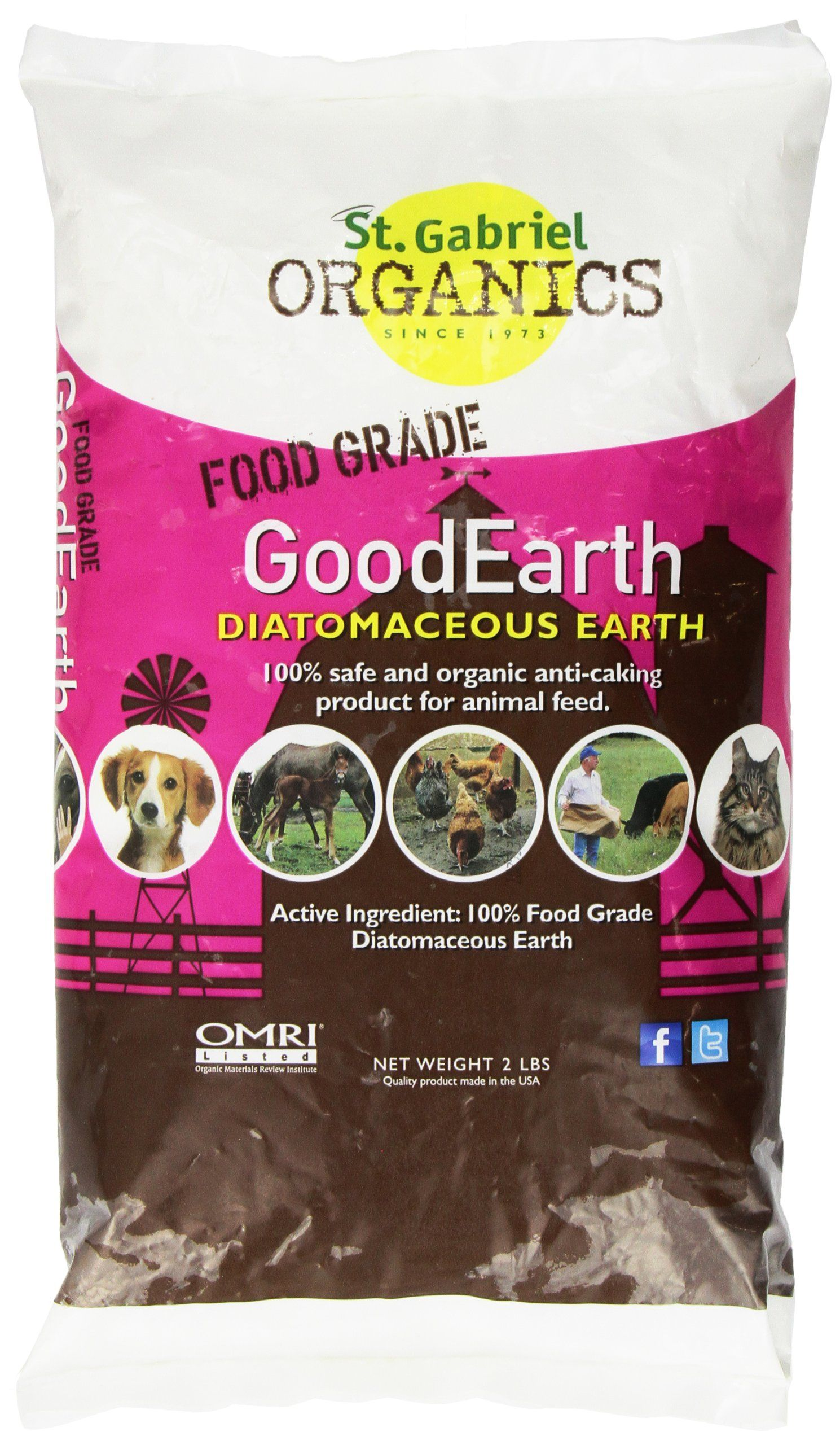 GoodEarth Diatomaceous Earth Supplement for Chicken and