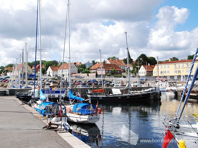 Hafen von Svaneke, Ostküste Insel Bornholm #hafen #svaneke #insel #bornholm #daenemark