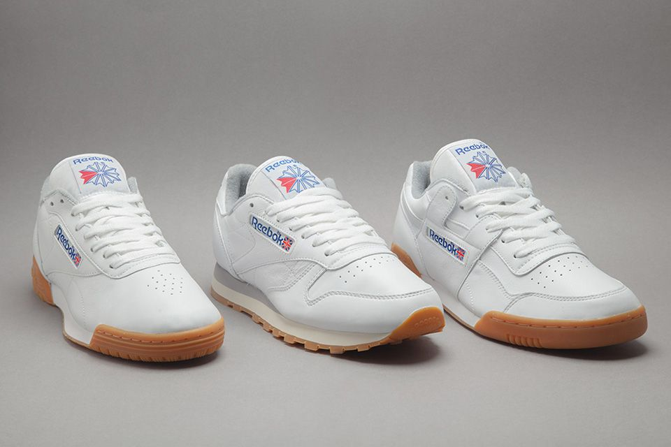 Reebok Adds a Gum Sole to Three Classic Silhouettes | Men's