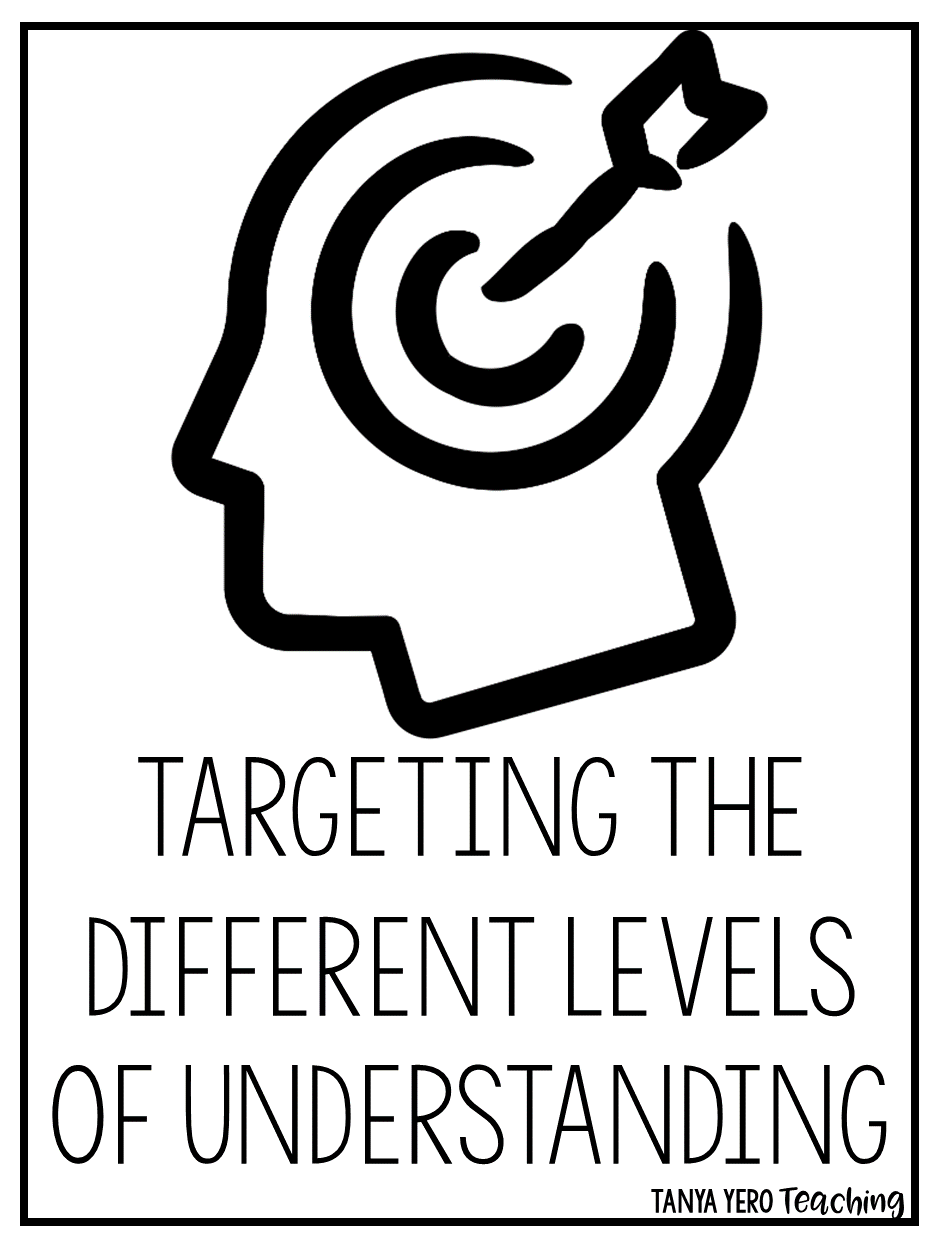 Targeting the Different Levels of Understanding in Your