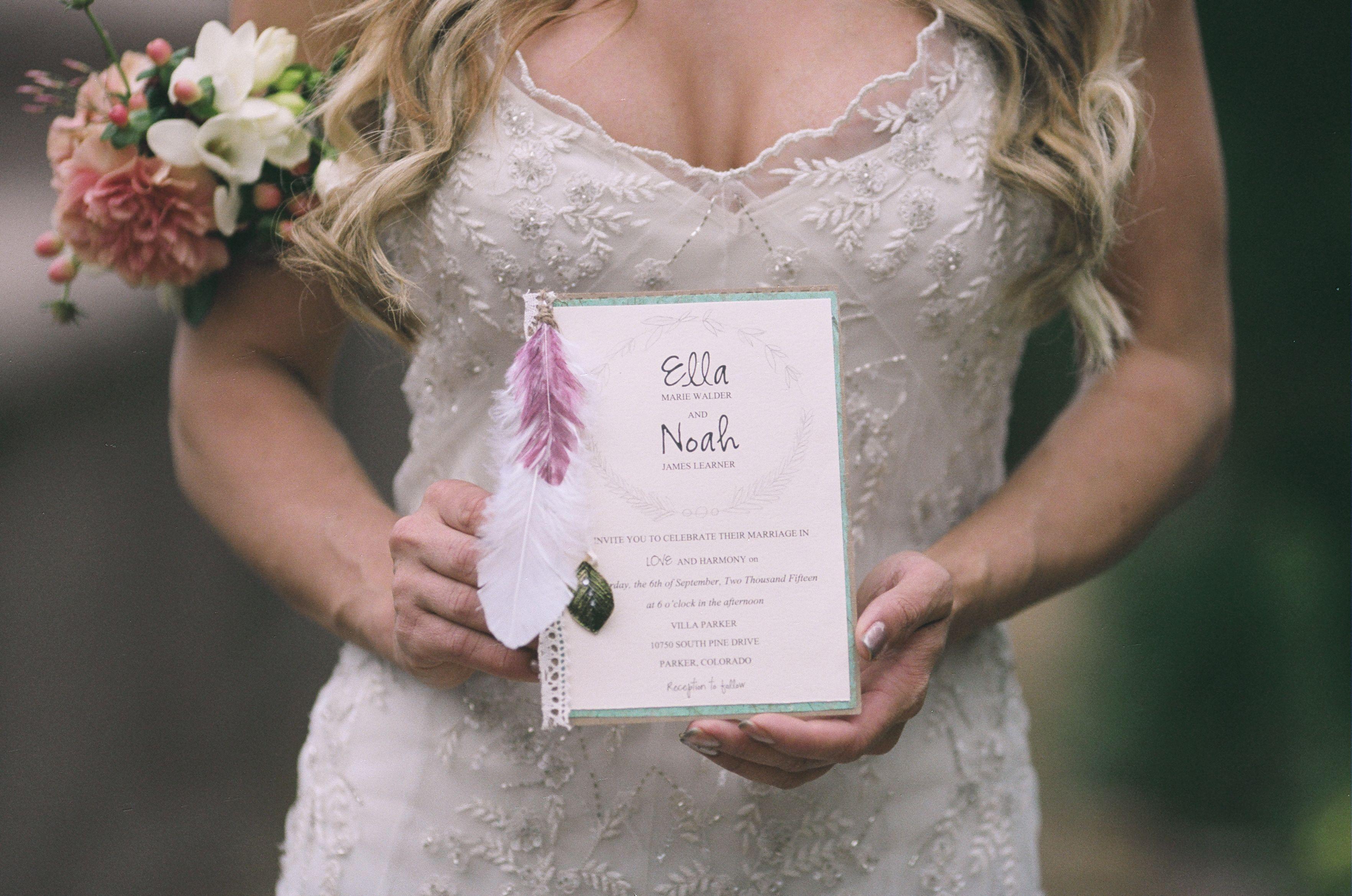 Boho wedding bohemian wedidng ideas boho wedding invitation