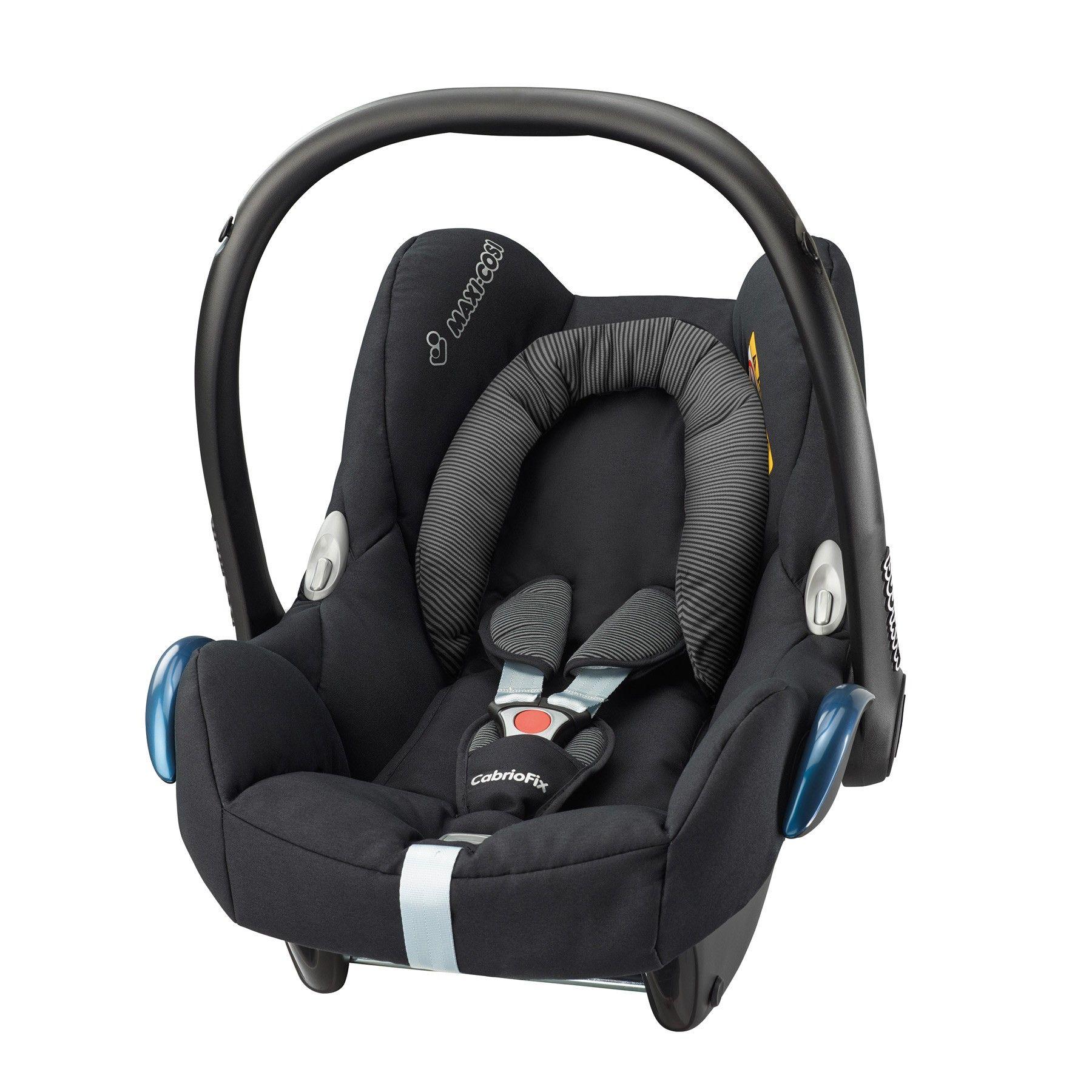 Maxi Cosi CabrioFix Car Seat Black Raven