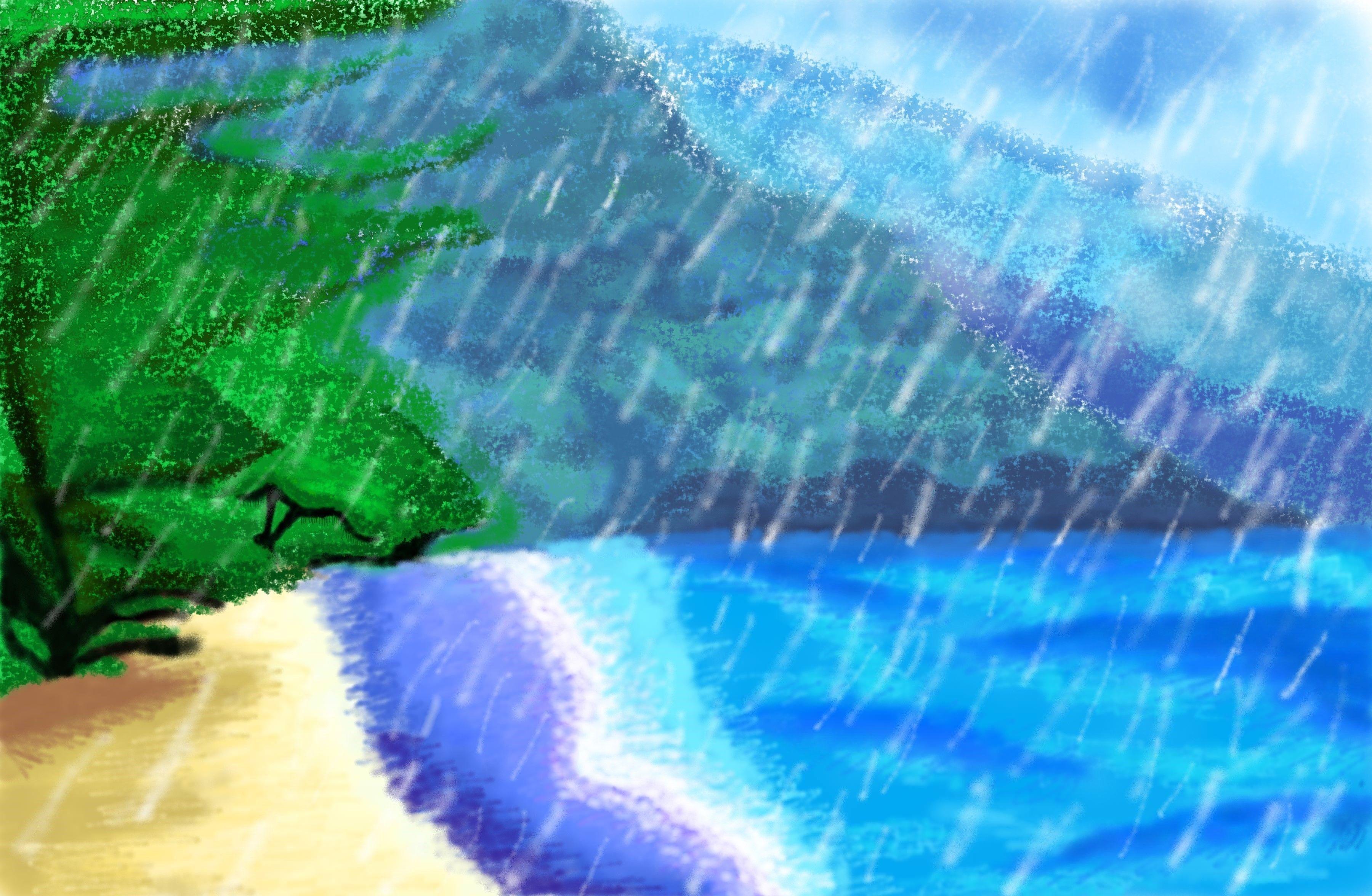 Summer Sorrows Paint 3D [3600X2352Px]