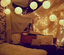 Inspiring image warm, wonder, beauty, tumblr, bed, sleep, relax, living, dreams, winter, hipster, room, lamps, miracle, bedroom, rooms, personalizado, tent, love, night, escape, cool, ligths, luzes, cool roms, ^^, casas, pillow, quarto, light #1163996 by nastty. Resolution: 500x334px. Find the image to your taste!