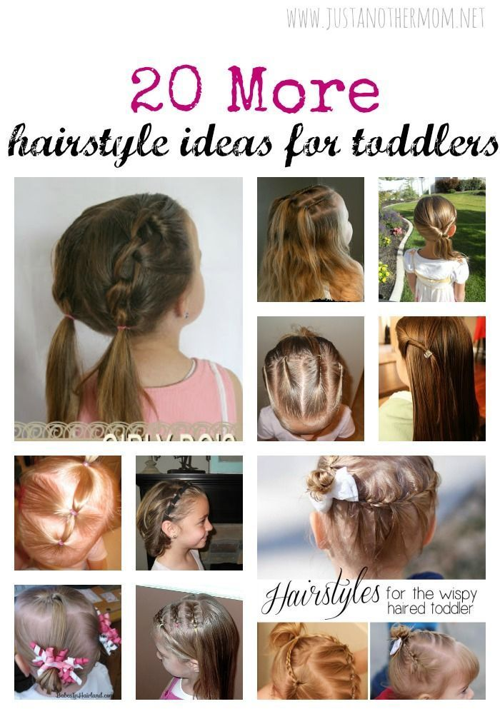 In Need Of Some More Hairstyle Ideas For Your Toddler Here Are 20 More Hair Styles Easy Toddler Hairstyles Baby Hairstyles