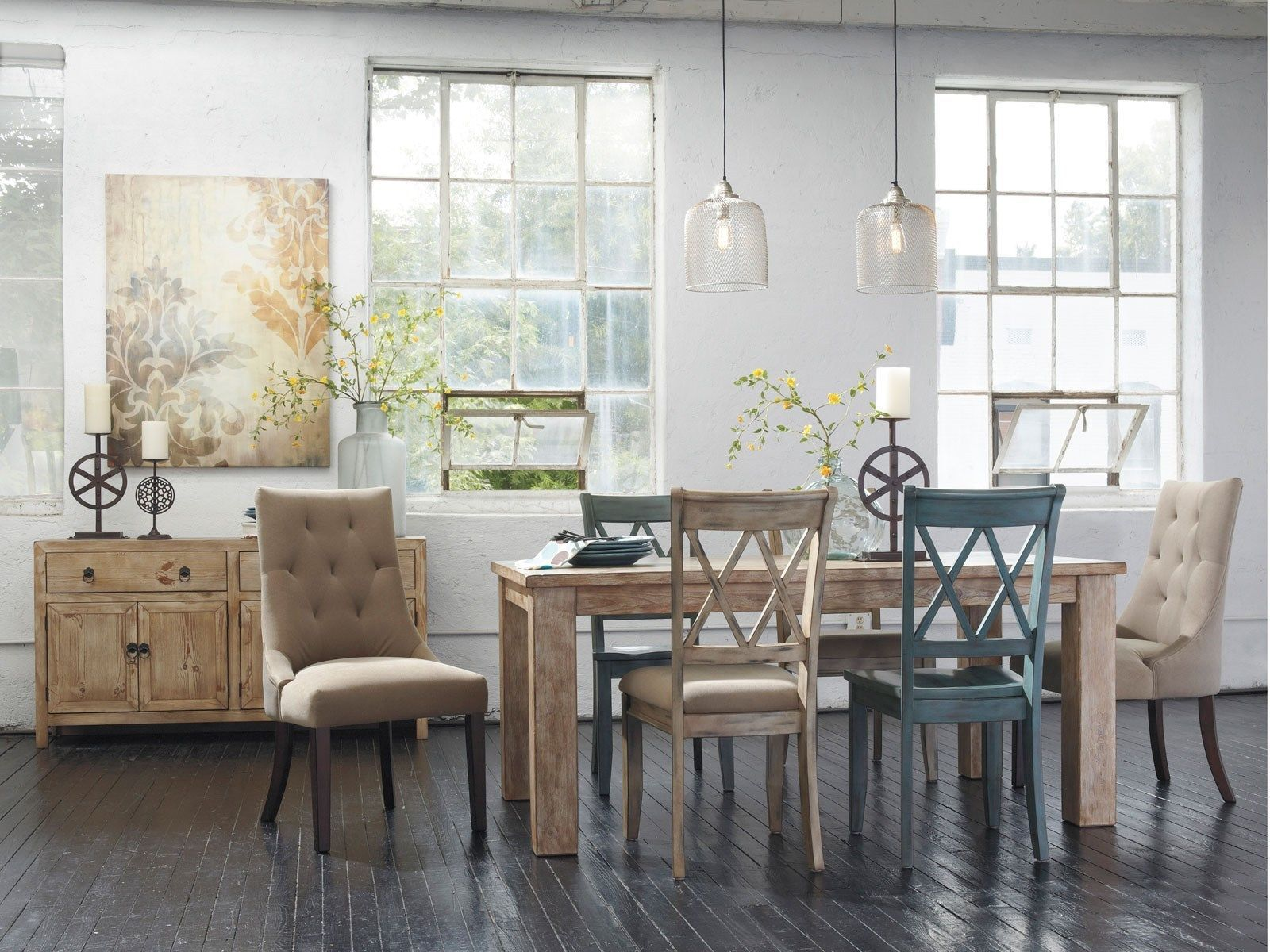 cottage dining room sets new with picture creative chic country ...