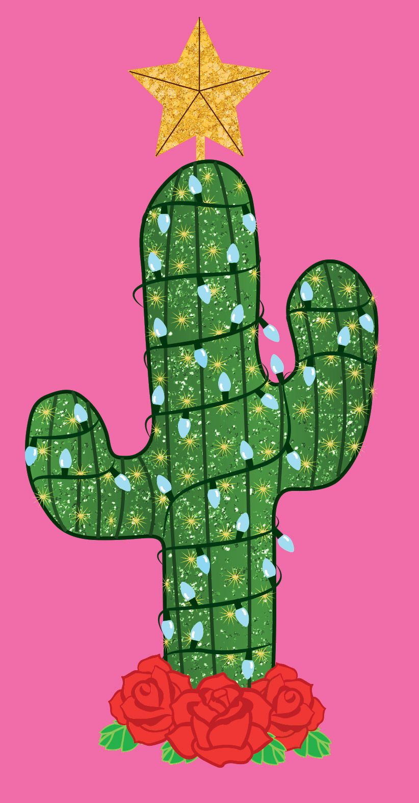 Cactus Christmas Tree to make my heart sing