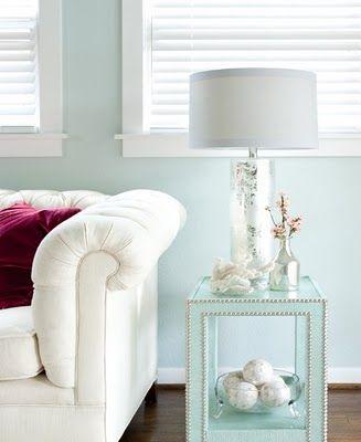 Elegant Pale Aqua Paint Color