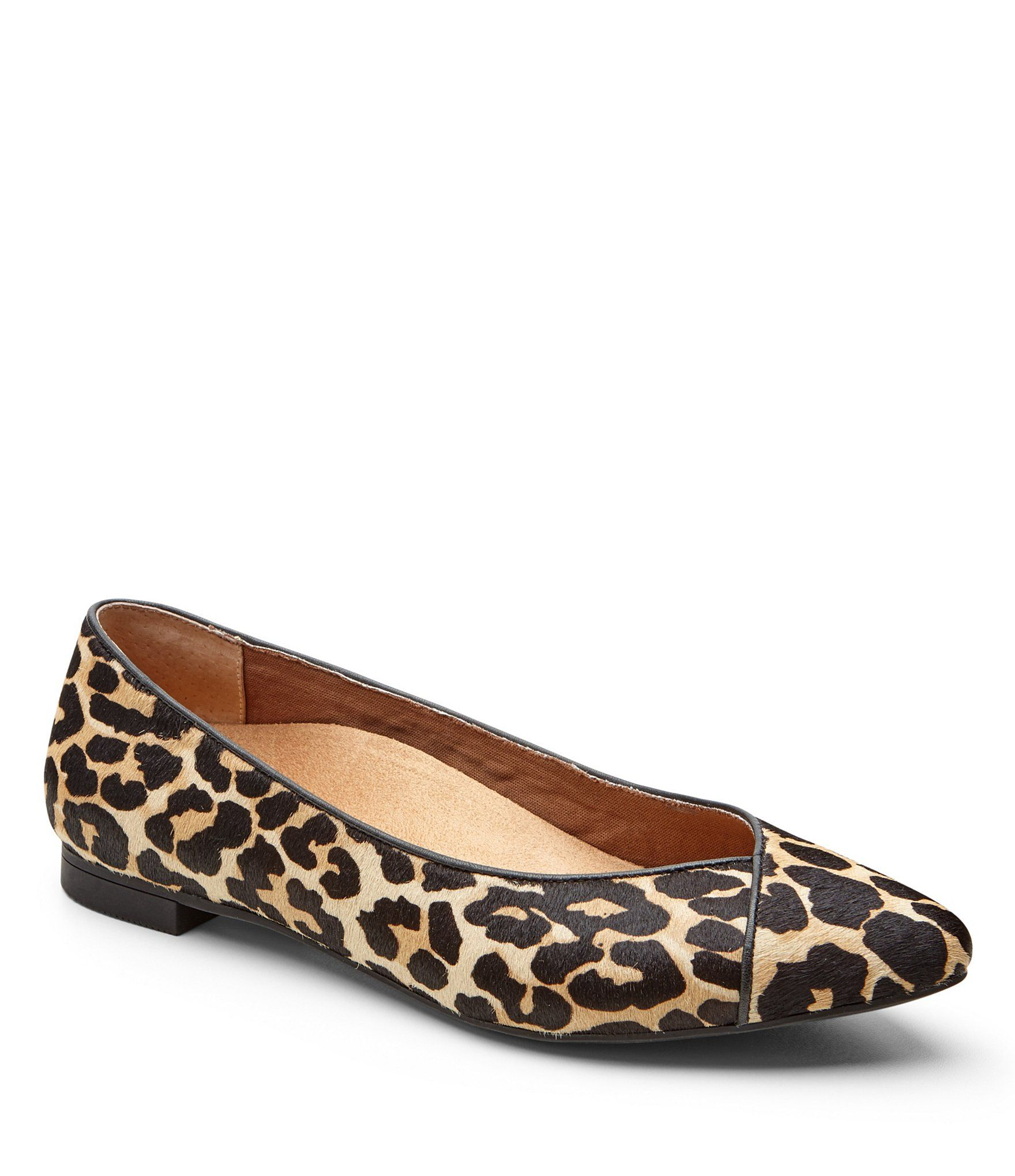 133f4ac28567 Shop for Vionic® Caballo Leopard-Print Genuine Calf Hair Pointed Toe Flats  at Dillards.com. Visit Dillards.com to find clothing