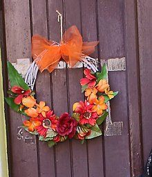 Dekorácie - Venček na dvere - 6817682_