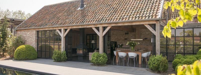 Houten bijgebouwen - klassieke houten bijgebouwen