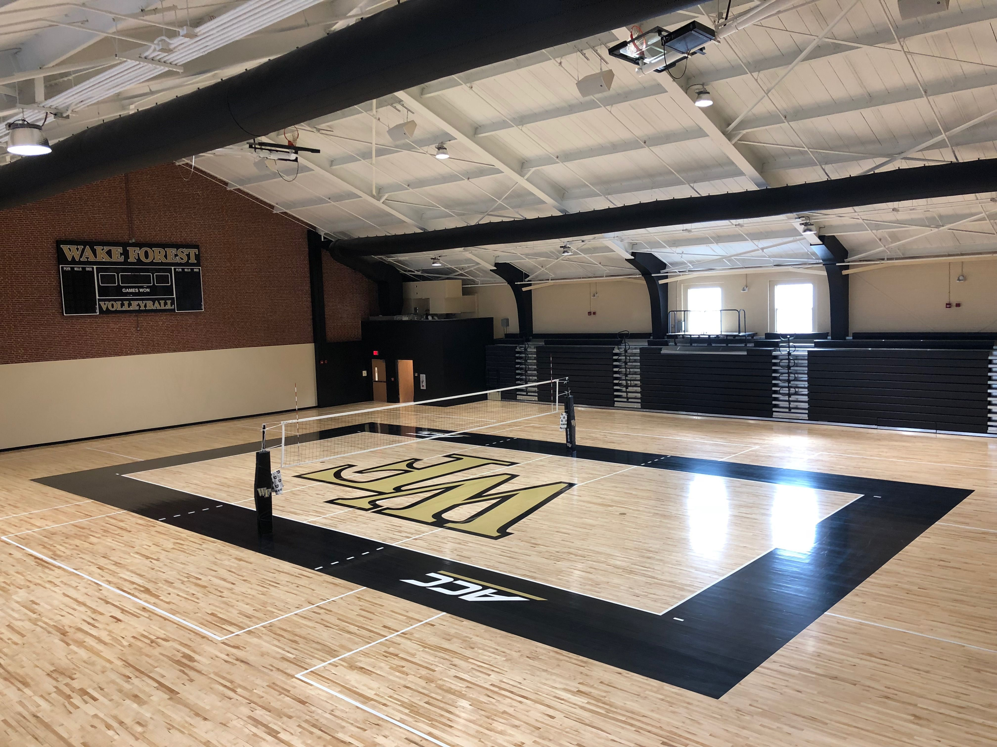 Wake Forest University Volleyball Sicarbonnation Volleyball Net Volleyball Volleyball Equipment