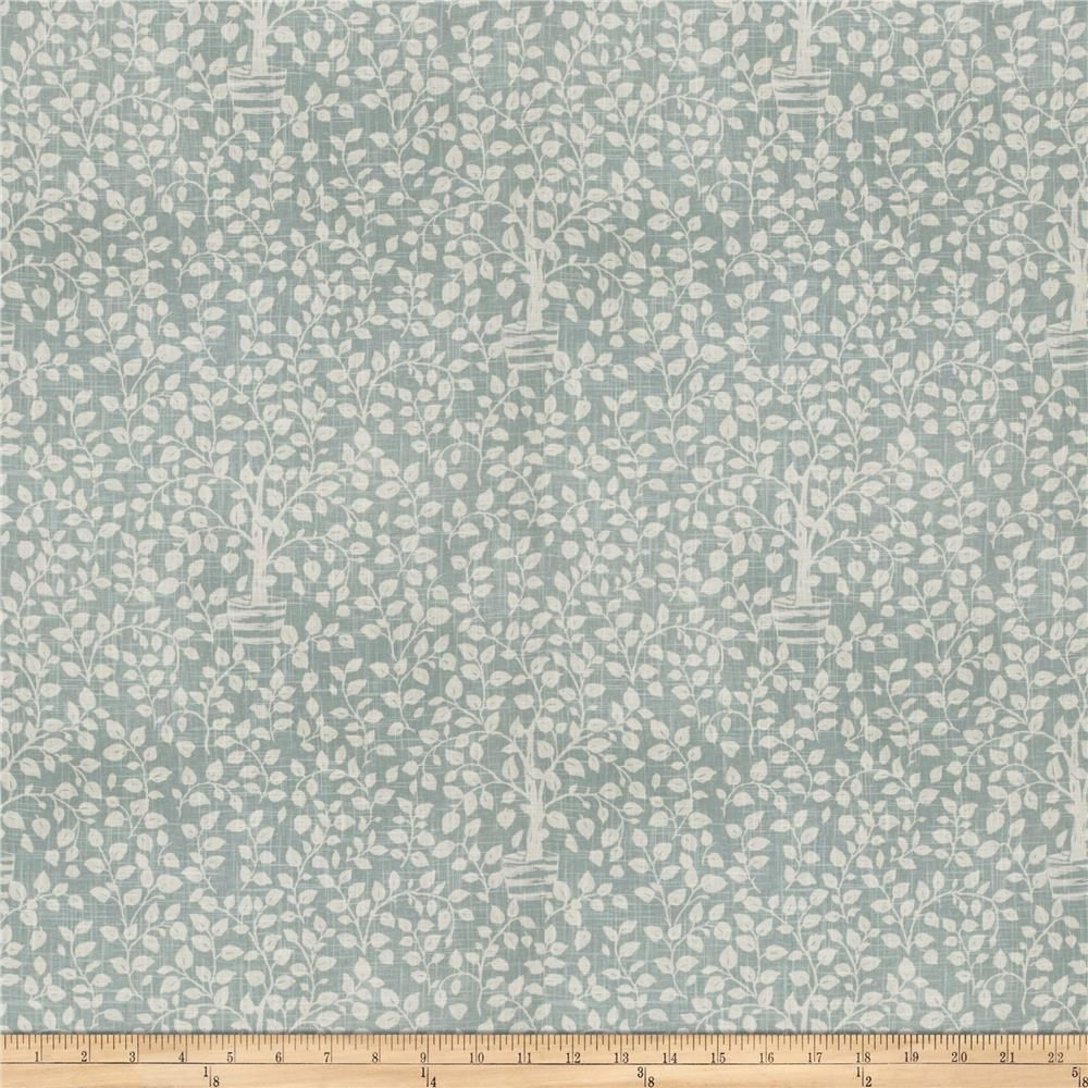 Charlotte Moss Ferrara Linen Blend Watercolor from @fabricdotcom  This heavyweight 55% Linen, 45% Rayon content fabric is perfect for window treatments (draperies, valances, curtains and swags), toss pillows, duvet covers and upholstery.