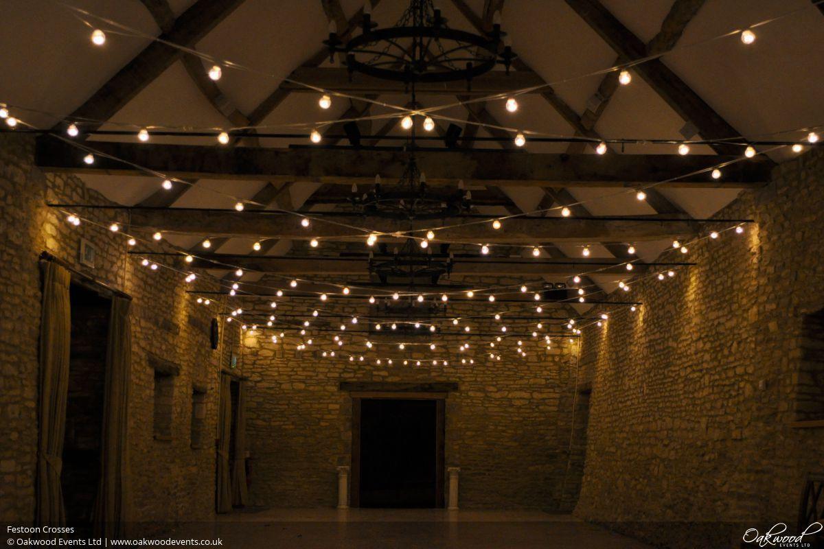 Festoon Lights Hire Oakwood Events Festoon Lighting Canopy