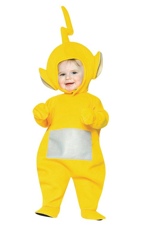Teletubbies Laa Laa Infant Toddler Costume Kids Halloween