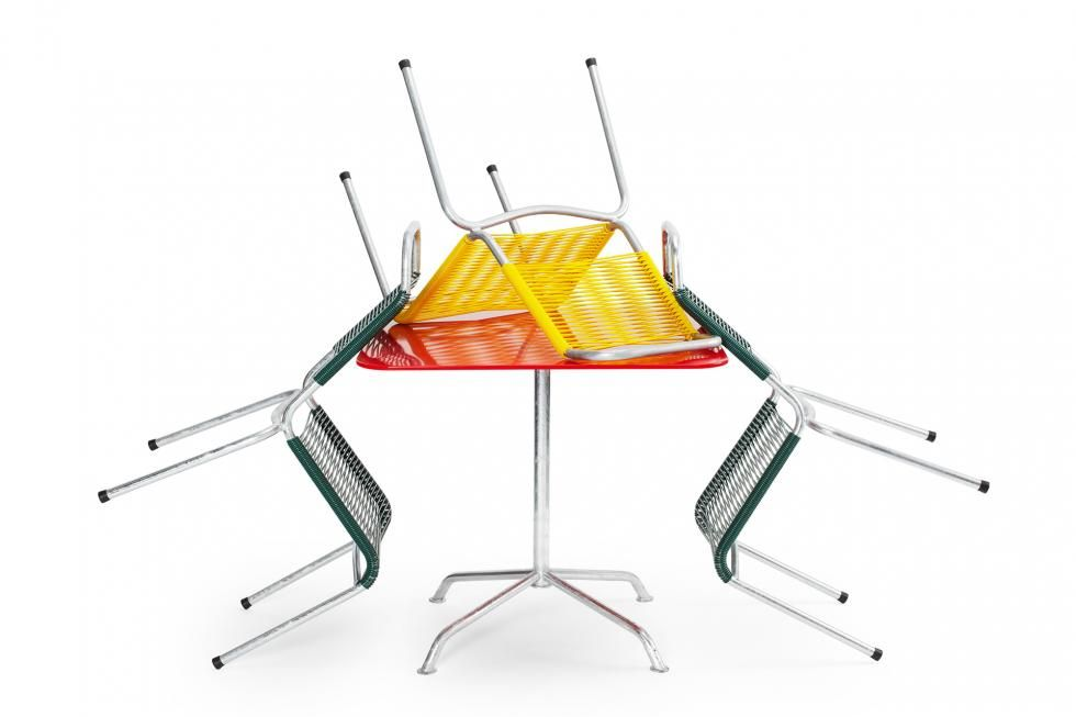 Embru Altorfer Stuhl Schweizer Outdoor Designklassiker
