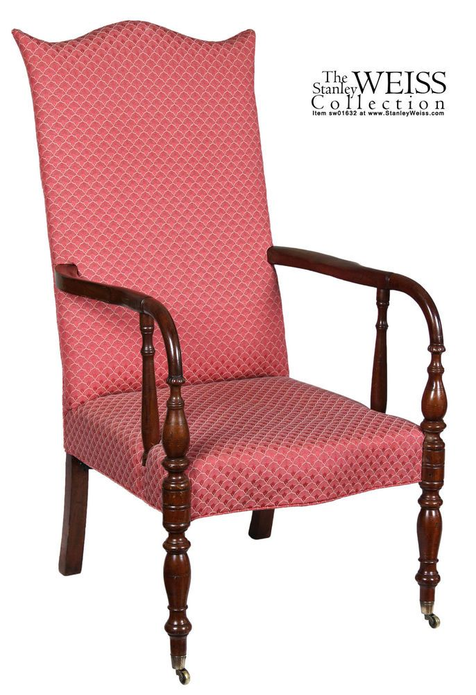 Patio Furniture Portsmouth Nh.Details About Swc Mahogany Lolling Chair Portsmouth Nh C 1820 30