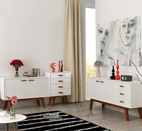 Scandinavian Side Board Cabinet #furniture #style #design #interior #scandinavian #homedecor
