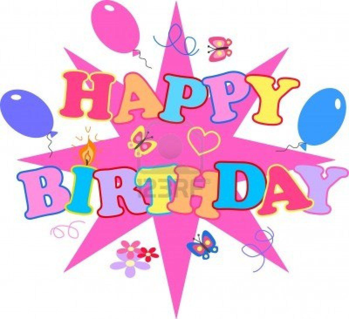 26 Awesome Girly Birthday Clipart Unicorns Bday Stuff Pinterest