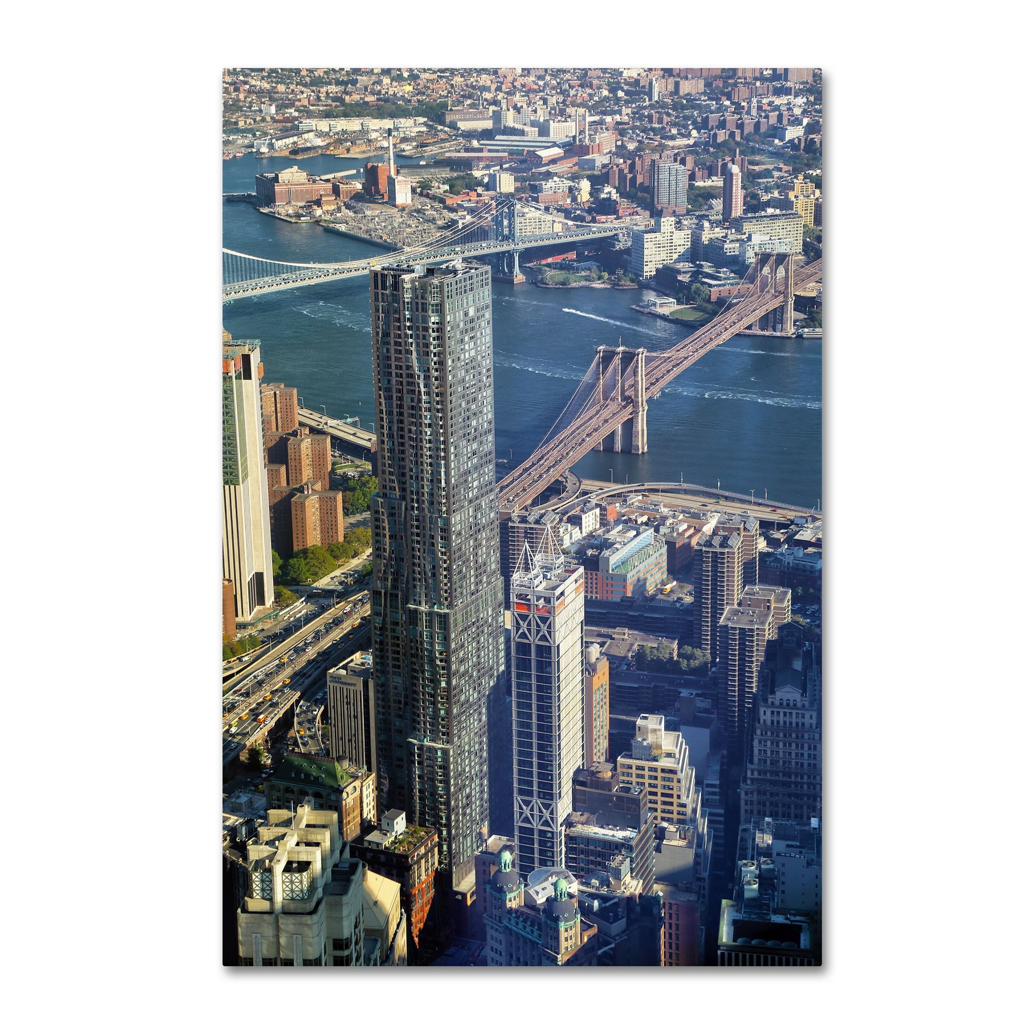 Trademark CATeyes 'Beekman Tower Brooklyn Bridge' Canvas Art