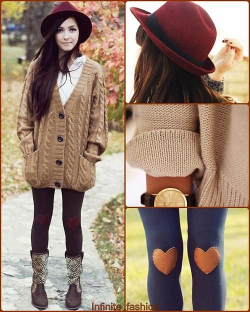 very cute & simple outfit for fall time :)) | fashionista | Pinterest