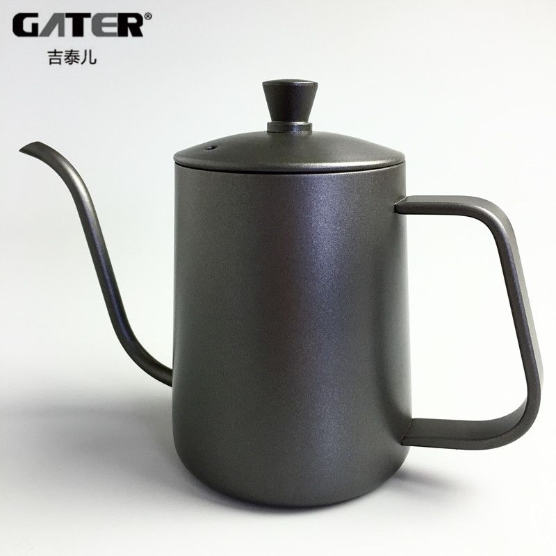Promo GATER Stainless Steel Coffee Drip Kettle 600ml Fine Mouth
