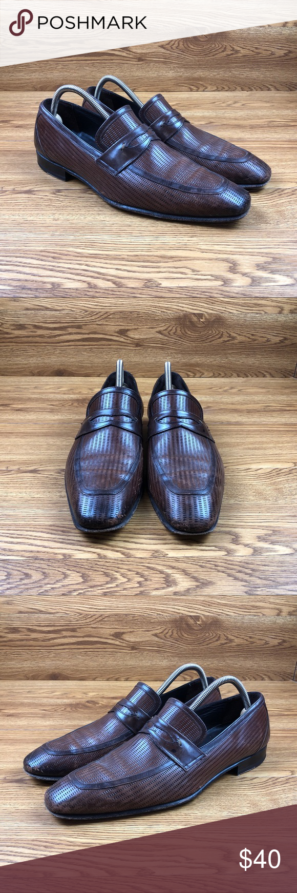 Leather loafers, Mezlan shoes, Loafers