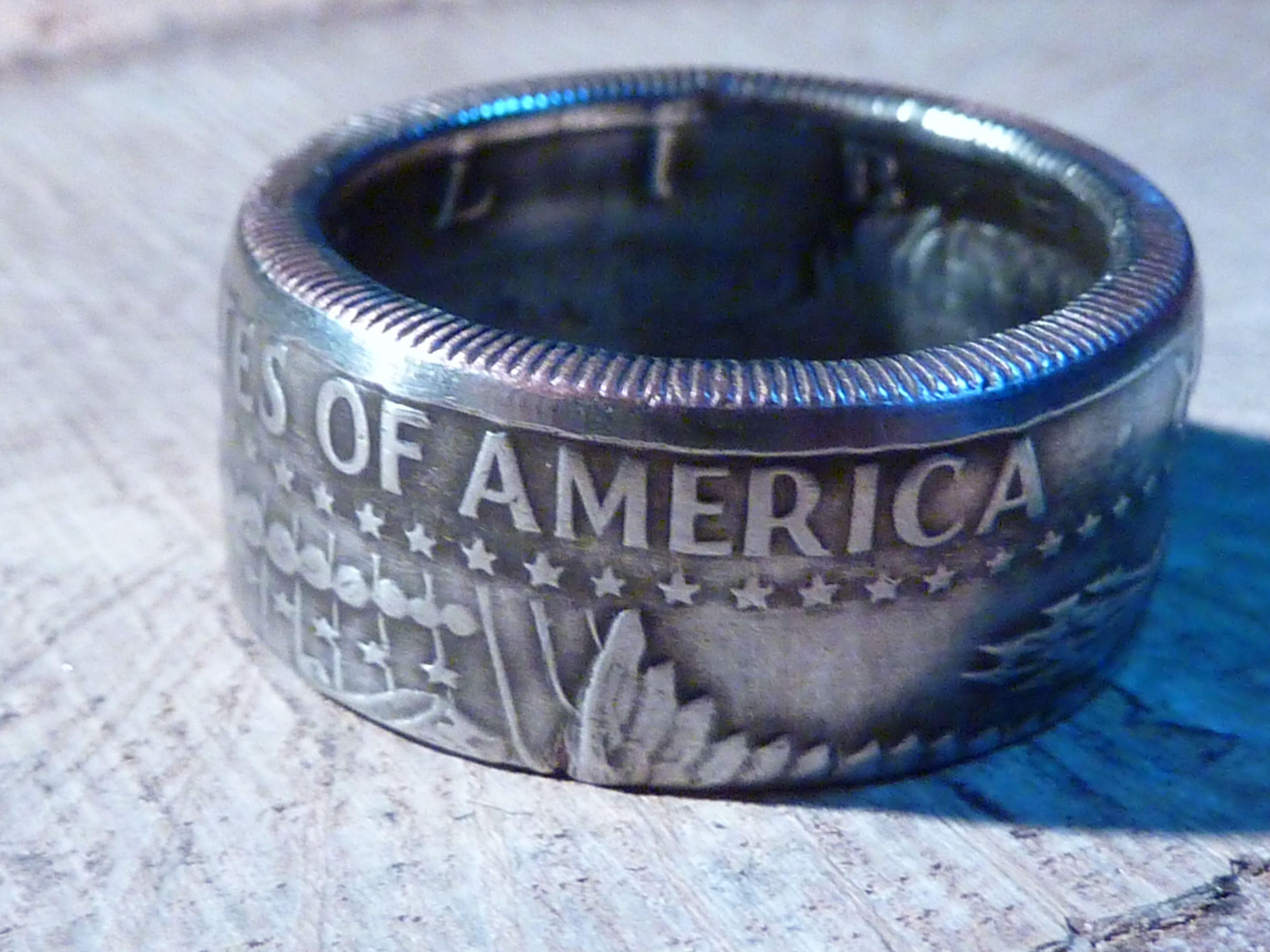 Half Dollar USA als herrlichen Ring gibt es bei