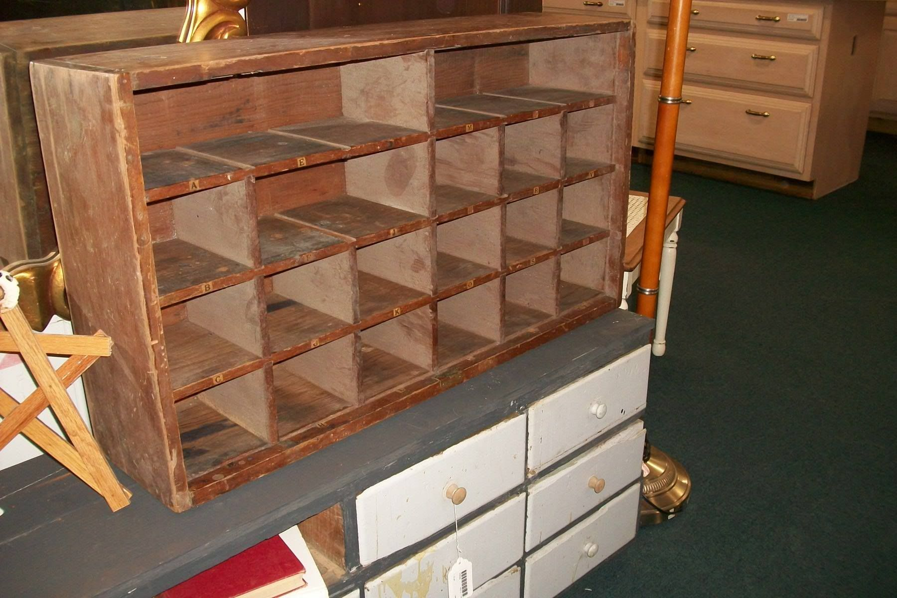 $95 - divided cubby for storage (in store as of 8/14 ...
