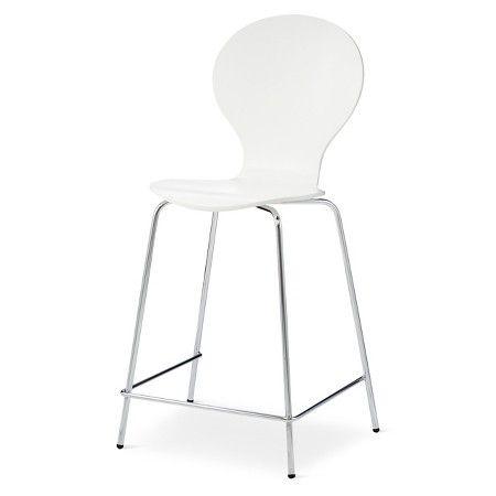 Super Porter Mid Century Modern Round Back 24 Counter Stool Machost Co Dining Chair Design Ideas Machostcouk