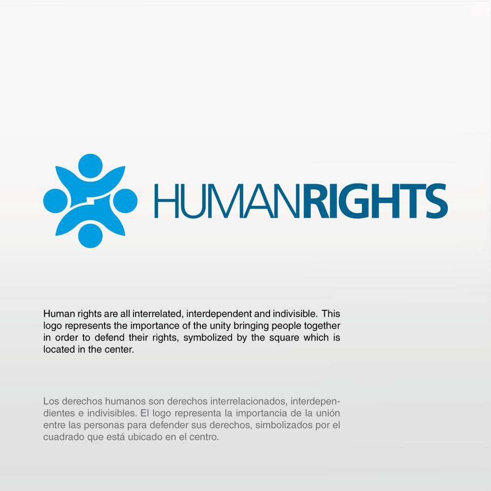interrelated Unity, Human rights, Logos
