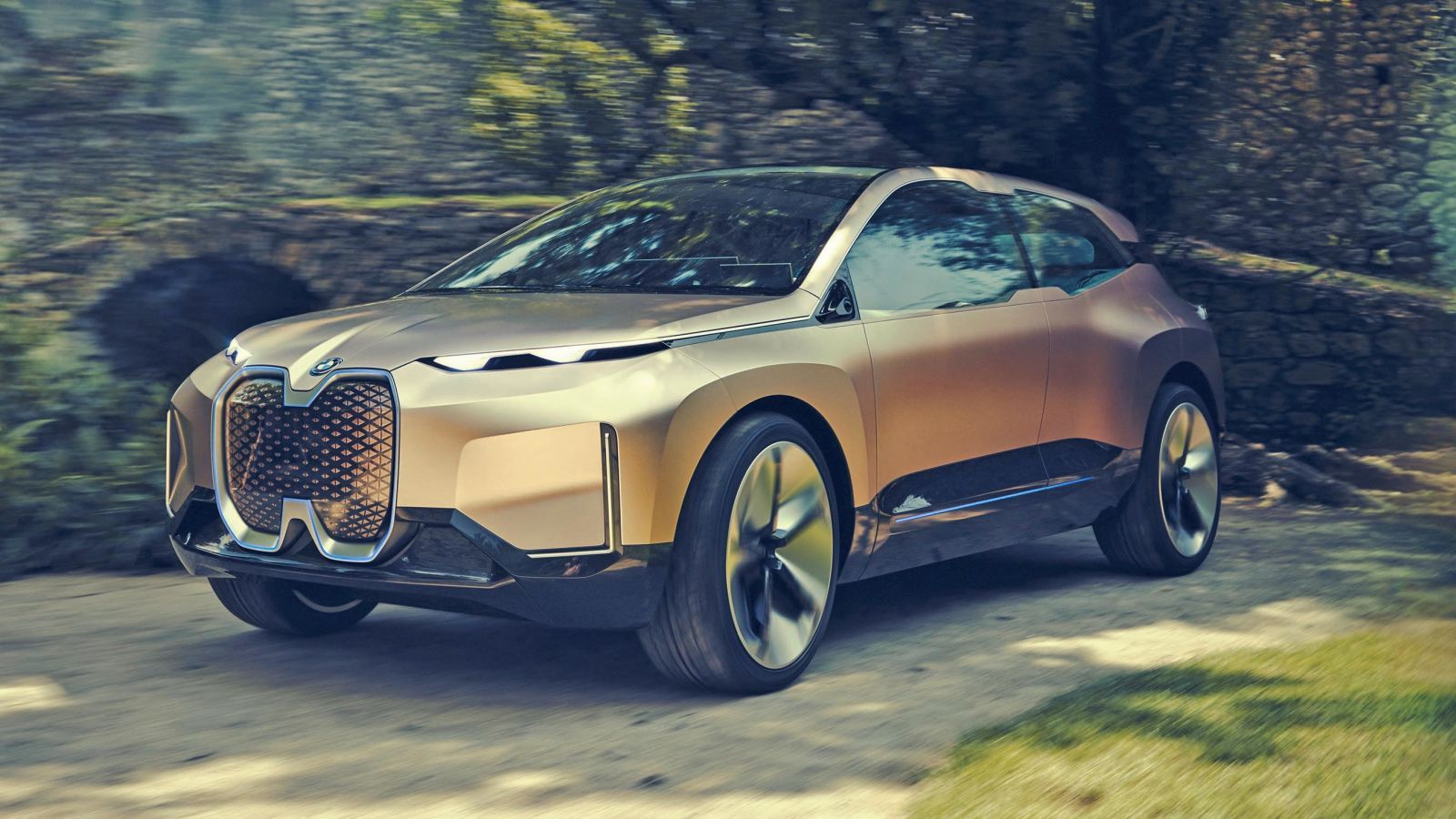 The Bmw Vision Inext Concept Is S Funky Autonomous Electric Crossover Future