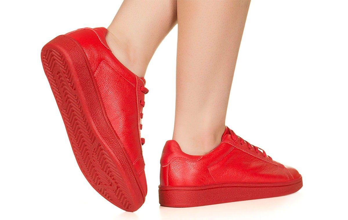5f87dcad8c Tênis vermelho monocolor Taquilla - Taquilla - Loja online de sapatos  femininos