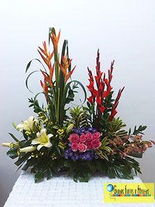 Globos Flores Y Fiestas Bellos Arreglos Florales