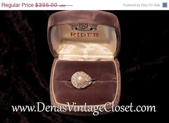 April Fools Sale Rare Vintage Eisenburg Ice Pearl and ...