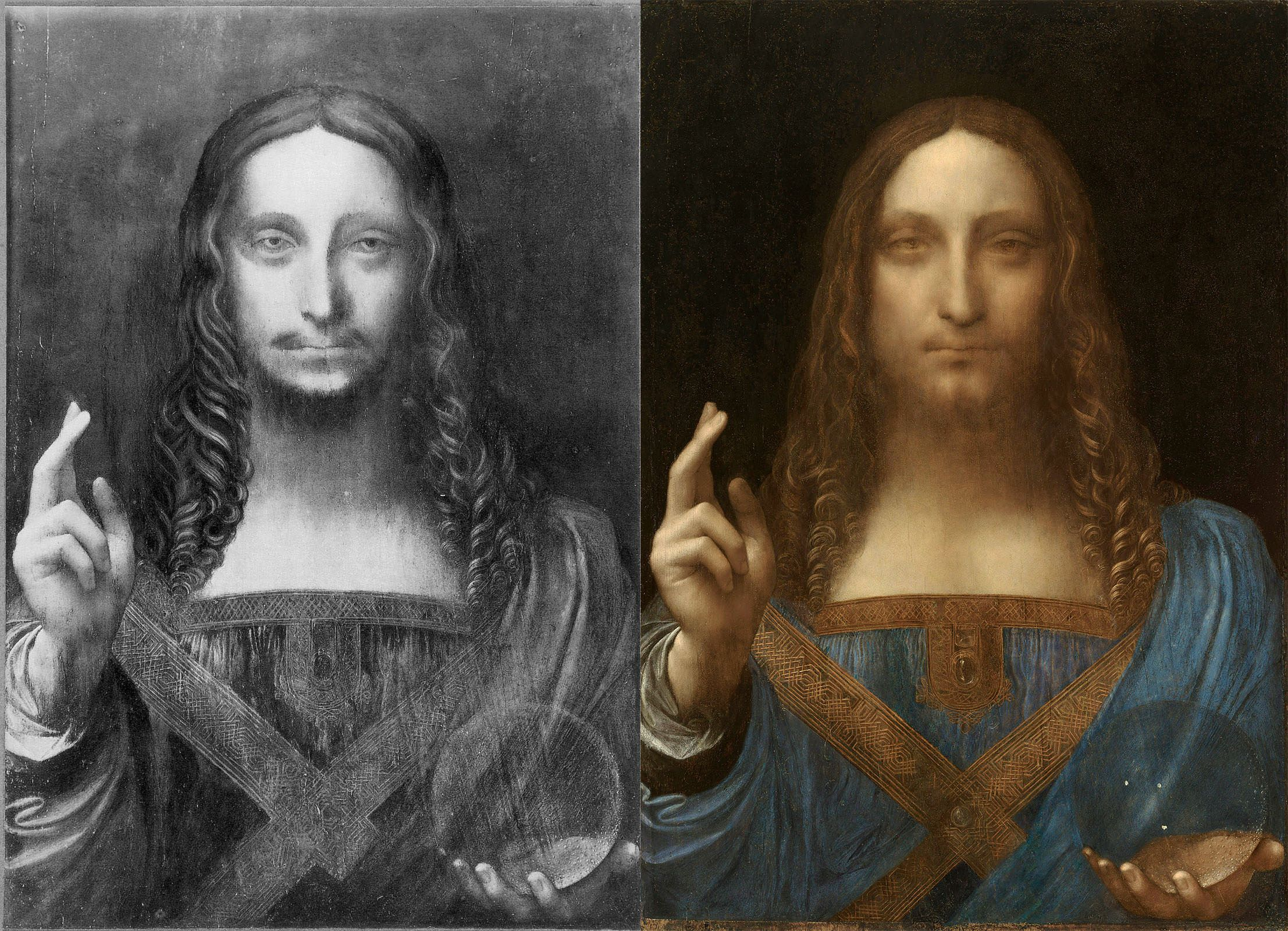 da vinci s salvator mundi that just sold for 450m is a bad