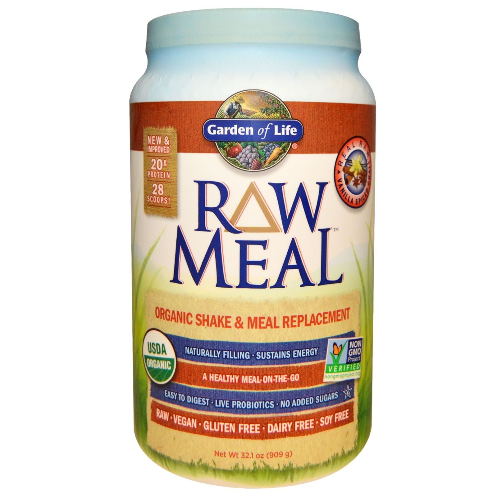 Garden of Life, RAW Organic Meal, Shake and Meal