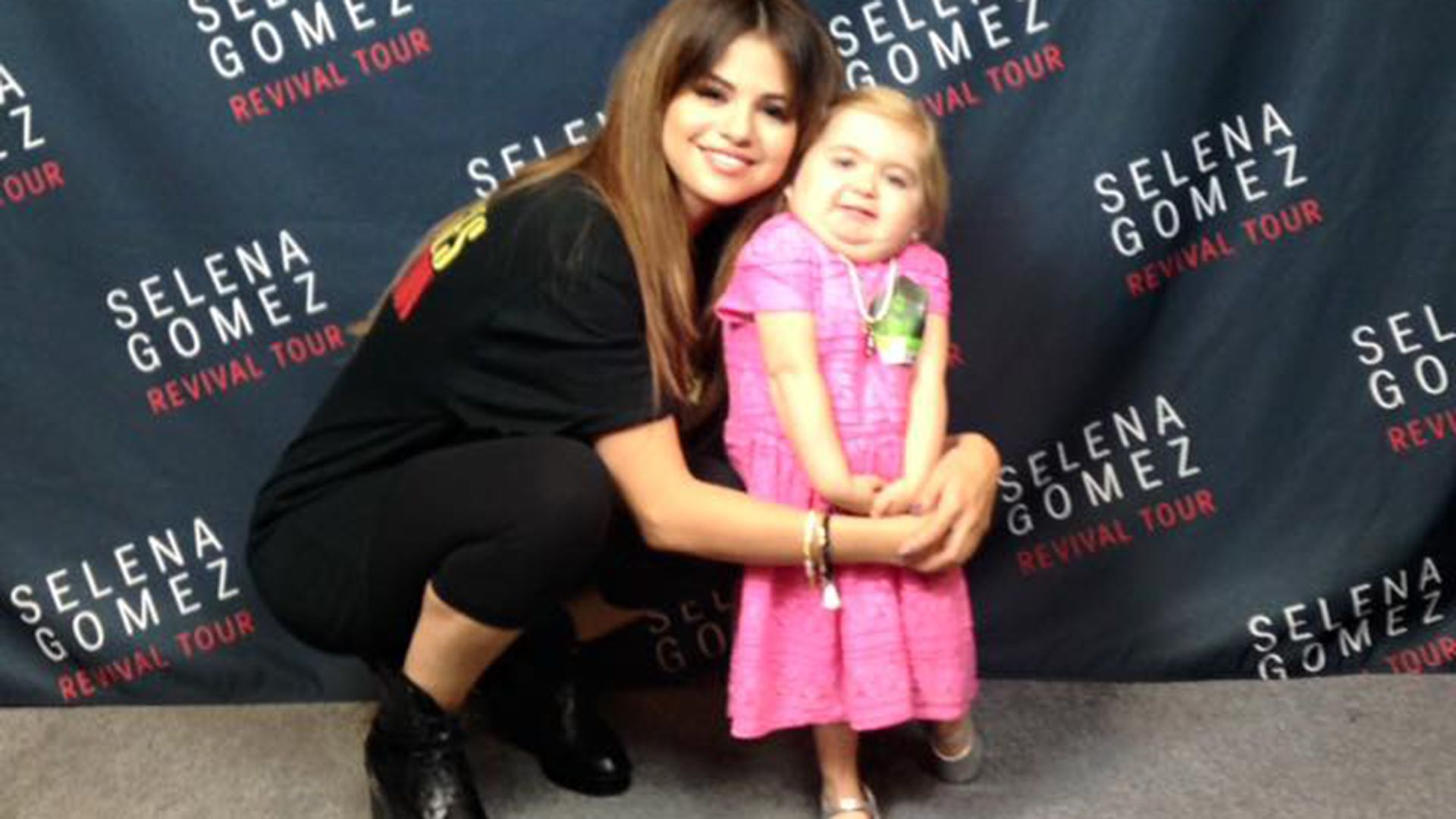 Watch This 7 Year Old Girl With Rare Disease Rock It Out With Selena