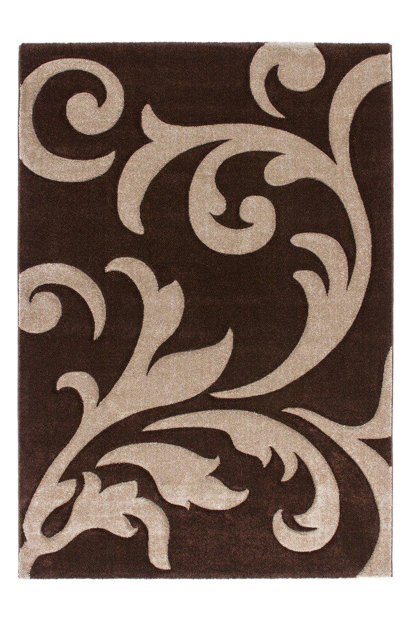 Teppichgrößen handgearbeiteter teppich lambada in braun teppichgröße