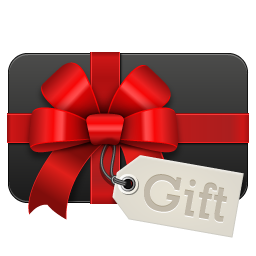 Gift Black Icon 256x256 Png In Credit Card Icon Icon Set Business Icon