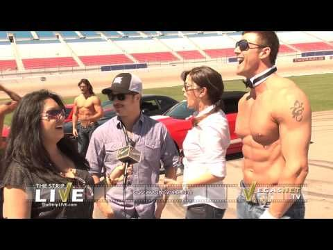 Vegas Celebrities Accept the American Muscle Car Challenge