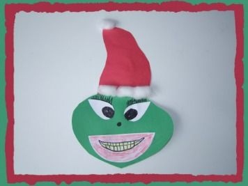 Dr. Seuss Grinch Craft and BIrthday Song