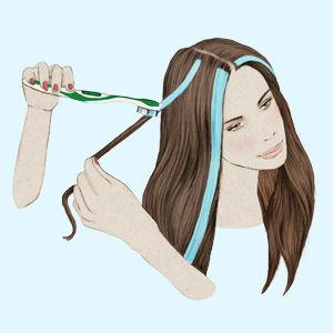 6 tips for giving yourself incredible at home hair highlights 6 tips for giving yourself incredible at home hair highlights womens health magazine solutioingenieria Image collections