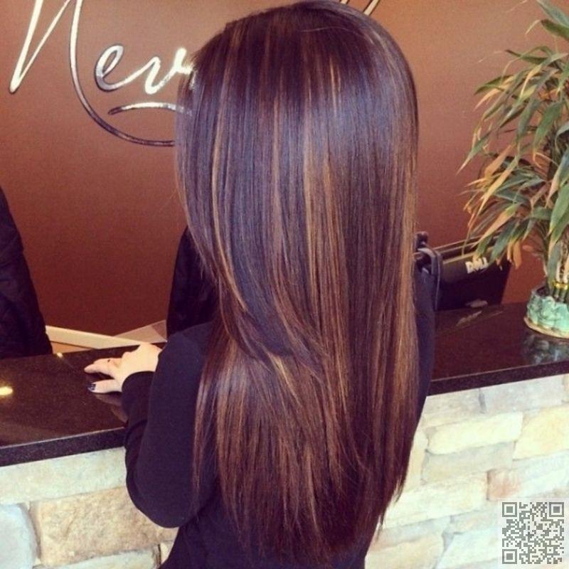 12 Dark Chocolate Hair Color With Subtle Highlights 29 Hair